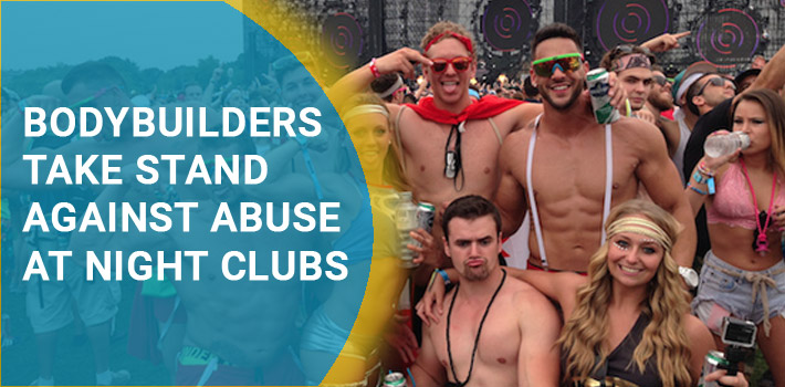 Bodybuilders fight back against Objectification in Night Clubs & Raves